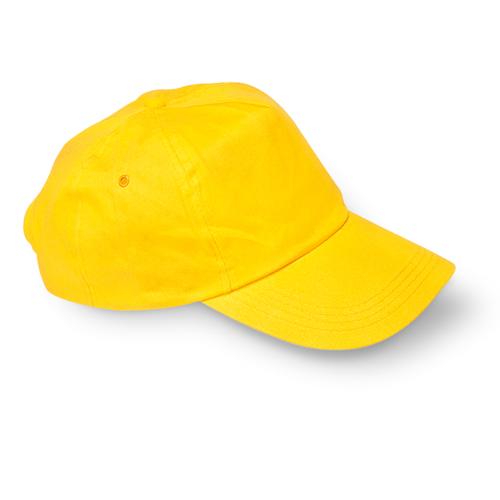 Baseball cap in yellow