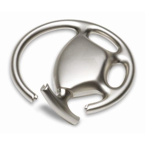 Metal key ring wheel shape      in