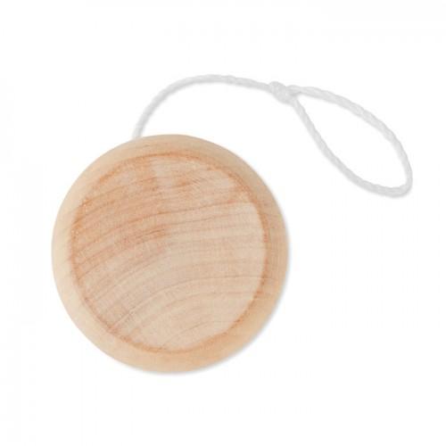 Wooden yoyo in wood