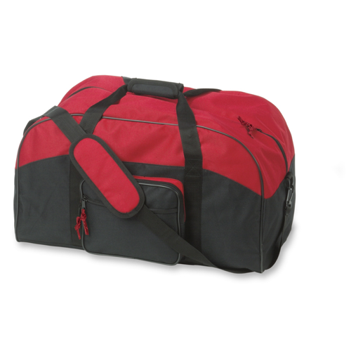Sport or travel bag in red