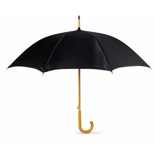 23.5 inch umbrella in black