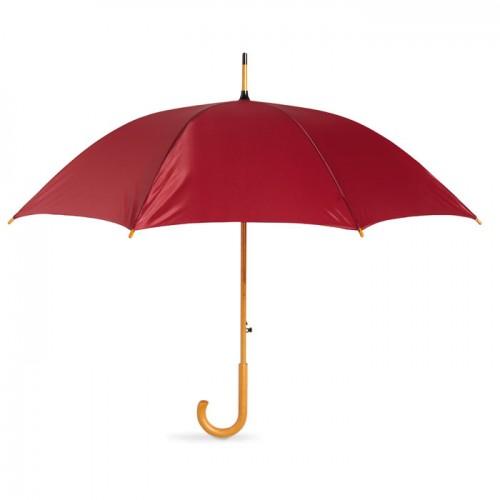23.5 inch umbrella in burgundy
