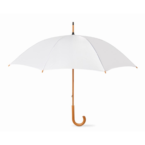 23.5 inch umbrella in white