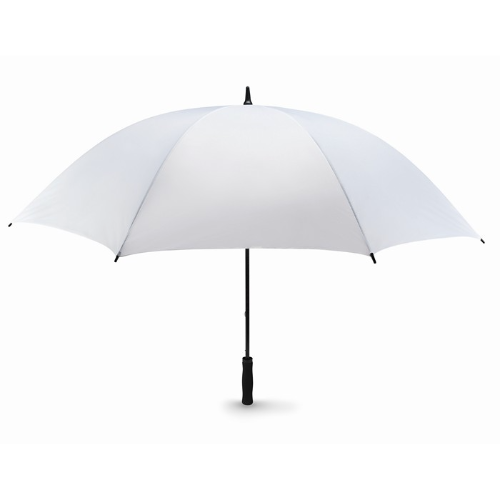 Windproof umbrella in white