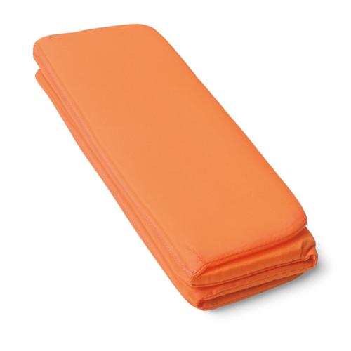 Folding seat mat                in orange