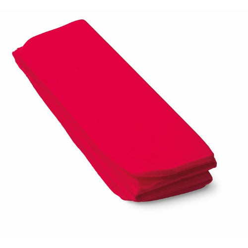 Folding seat mat in red