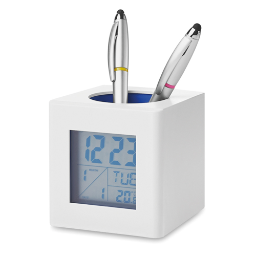 Weather Station in white-and-blue
