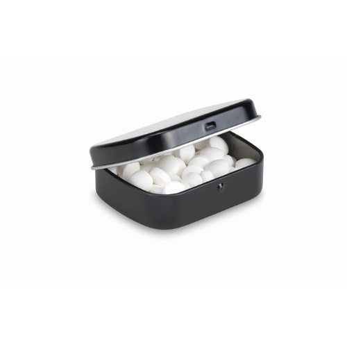 Easy tin with mints in white