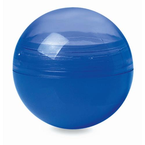 Lip balm in round box           in