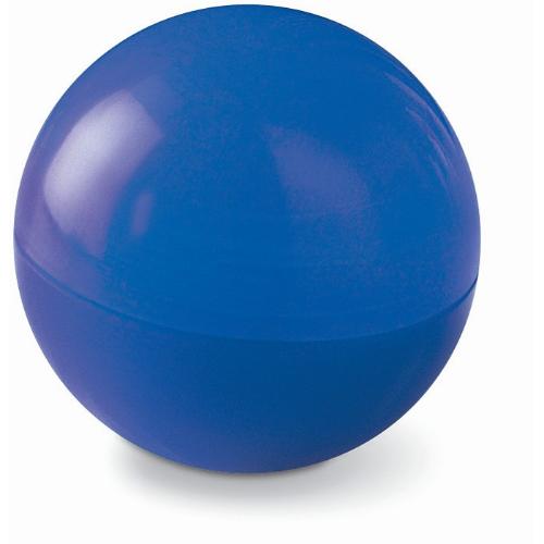 Lip balm in round box           in blue