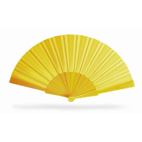 Manual hand fan                 in yellow