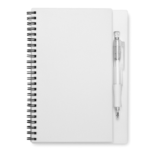 80 Pages Notebook in transparent