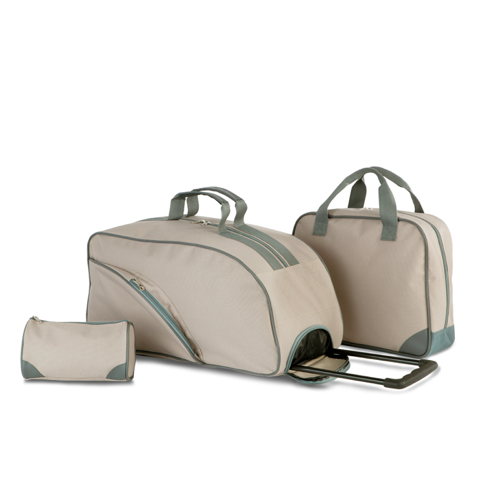 3 In 1 Travel Set in grey