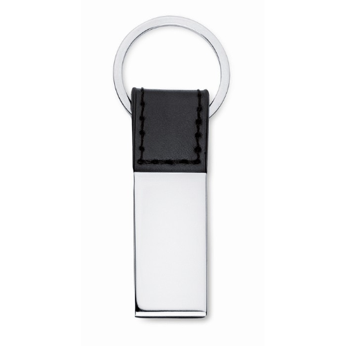 PU and metal key ring           in