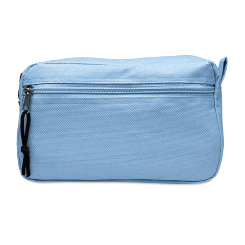 Cosmetic bag in baby-blue