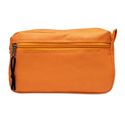 Cosmetic bag in orange