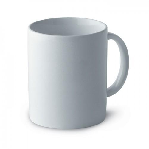 Classic ceramic mug in box in white
