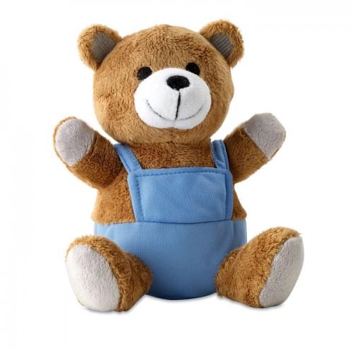 Bear plush w/ advertising pants in