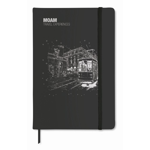 A6 notebook lined in white