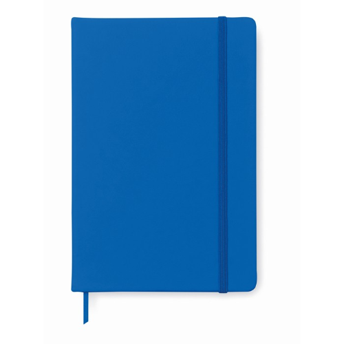 A5 notebook lined in royal-blue