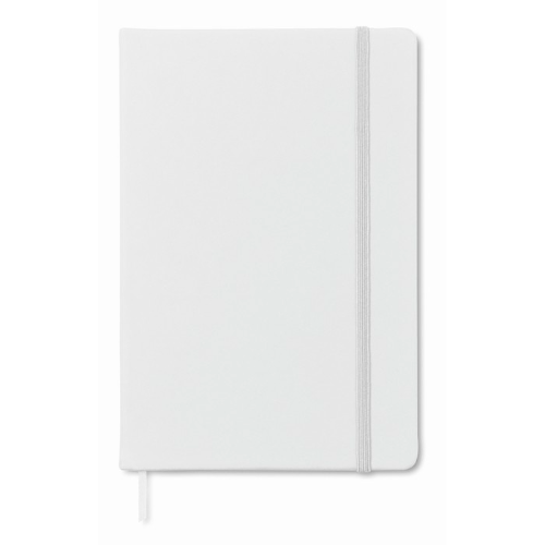 A5 notebook lined in white