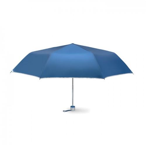 Foldable umbrella in blue