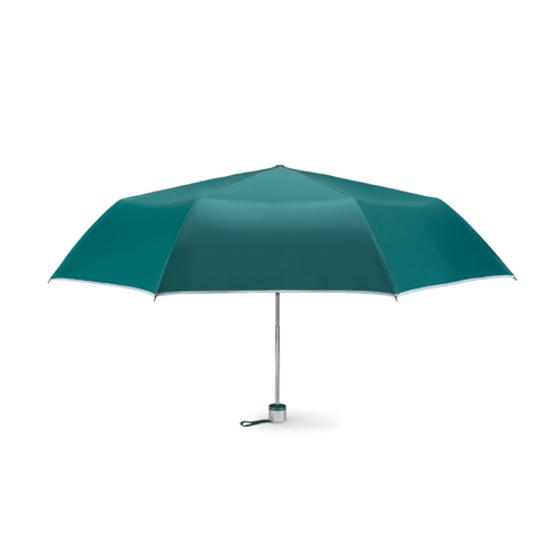 Foldable umbrella in green