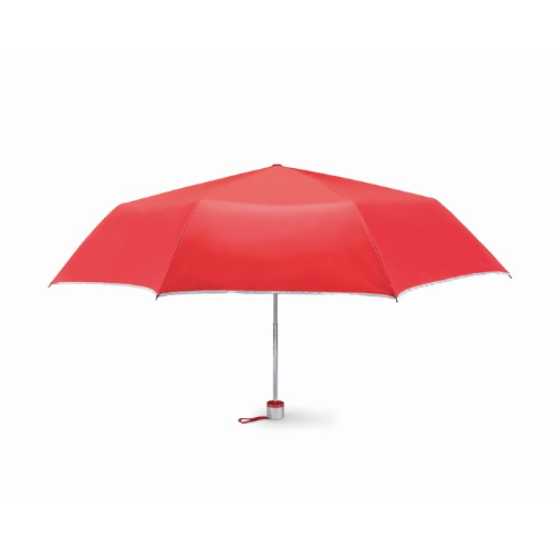 Foldable umbrella in red