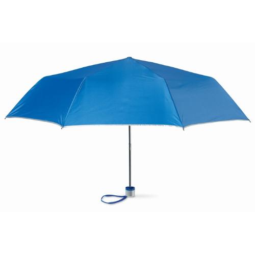Foldable umbrella in royal-blue