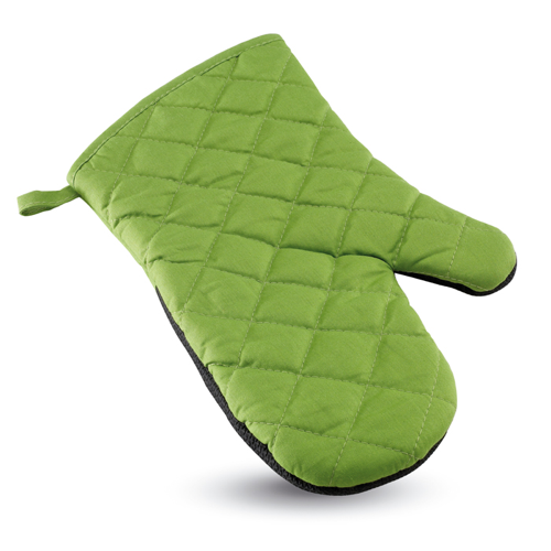 Cotton oven glove               in green