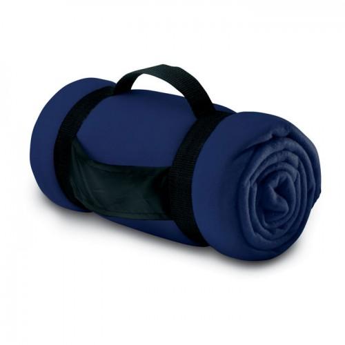 Fleece blanket                  in blue