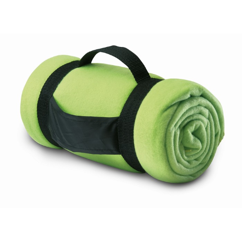 Fleece blanket                  in lime