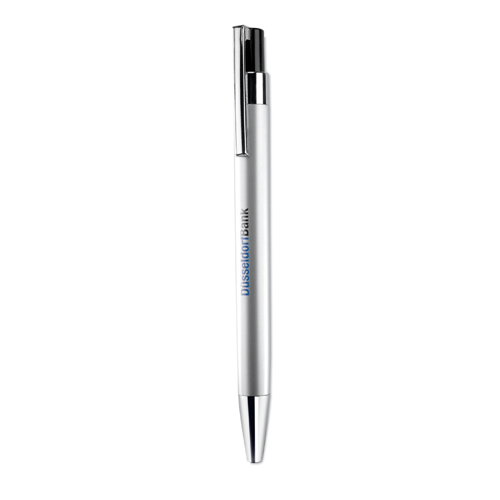 Ball Pen In Metallic Finish in matt-silver