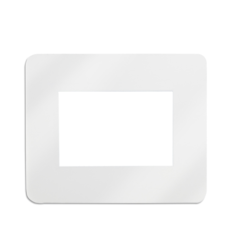 Mouse Pad With Picture Insert in white