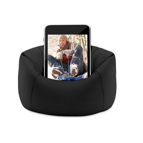 Puffy Smartphone Holder in black