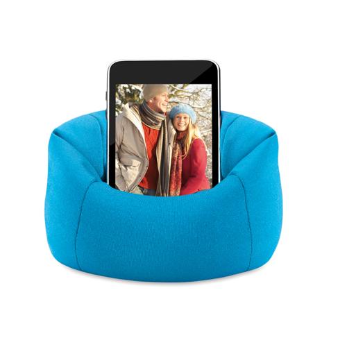 Puffy Smartphone Holder in blue