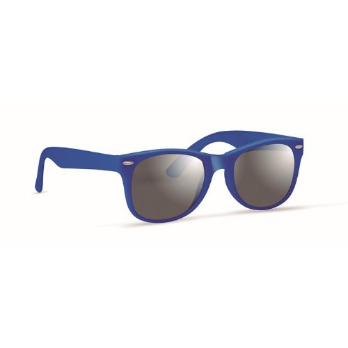 Sunglasses with UV protection in blue