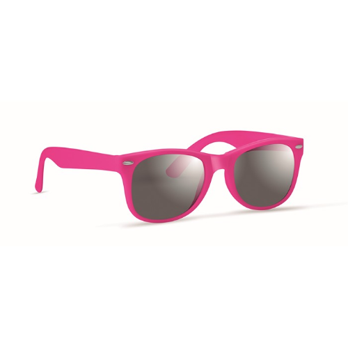 Sunglasses with UV protection in fuchsia