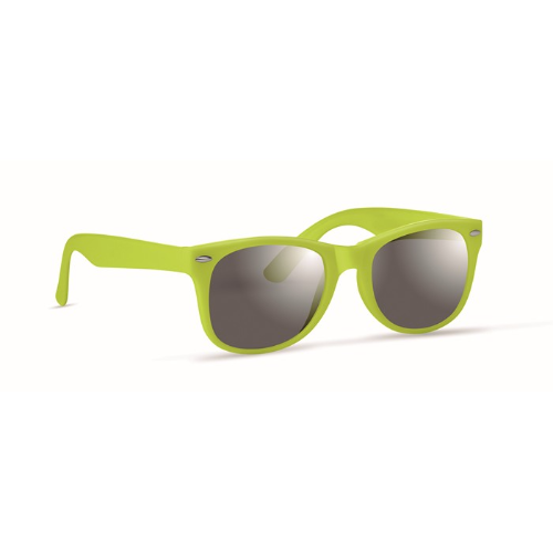 Sunglasses with UV protection in lime