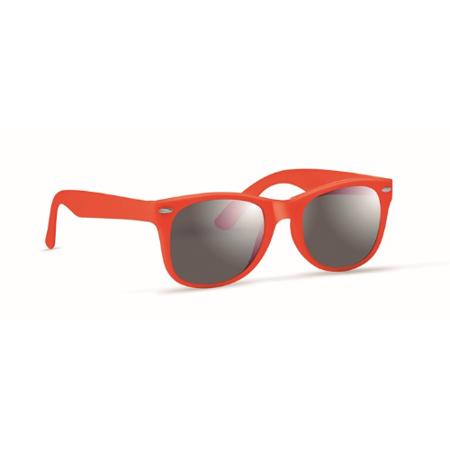 Sunglasses with UV protection in orange