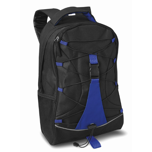 Adventure backpack in blue