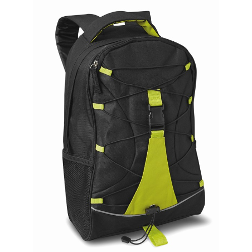Adventure backpack in lime
