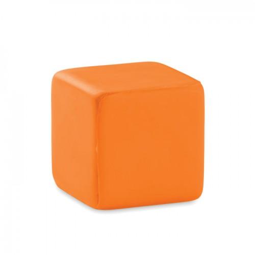 Anti-stress square in orange