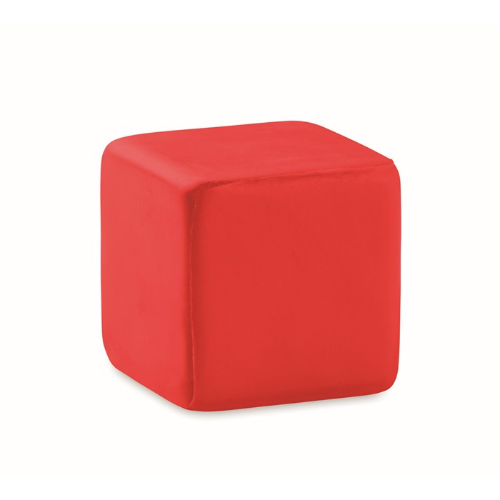 Anti-stress square in red