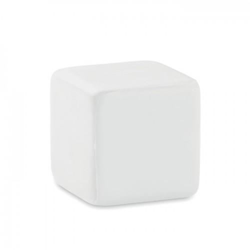 Anti-stress square in white