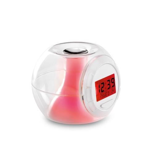 Mood Light Clock in transparent