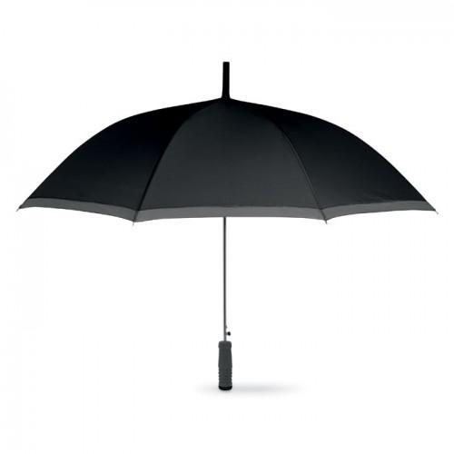 Umbrella with EVA handle in black