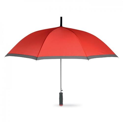 Umbrella with EVA handle in red