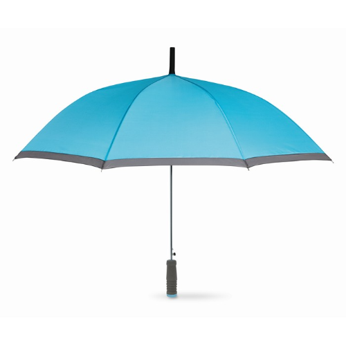 Umbrella with EVA handle in turquoise