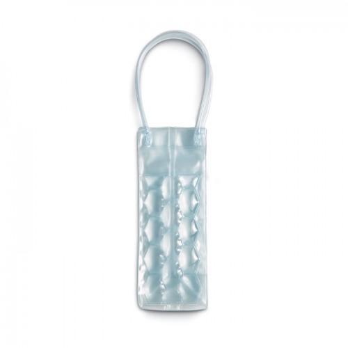Transparent PVC cooler bag in transparent